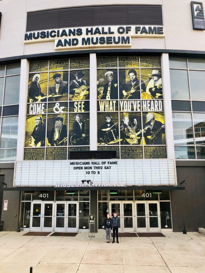 Musicians Hall of Fame, Nashville Tennessee