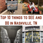 TOP 10 things to SEE and DO in Nashville, Tennessee!