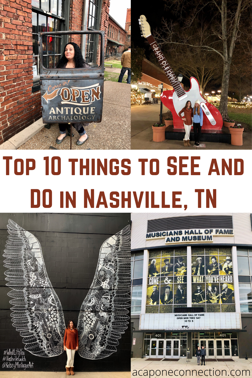 Top 10 things to see and do in Nashville, Tennessee