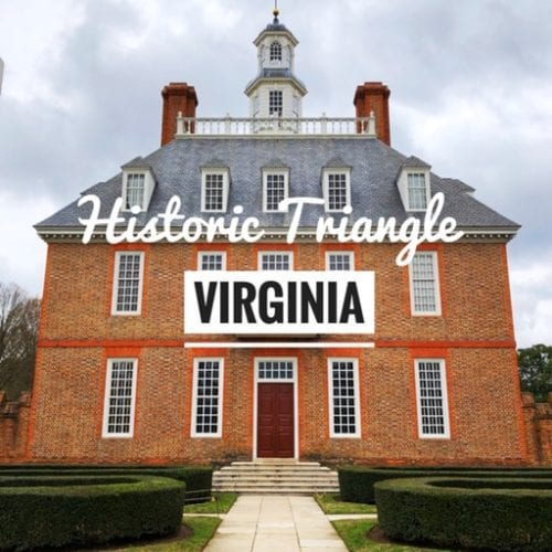 Historic Triangle Virginia, Yorktown, Colonial Williamsburg, Jamestown