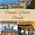 Have you heard of the Historic Triangle in Virginia?