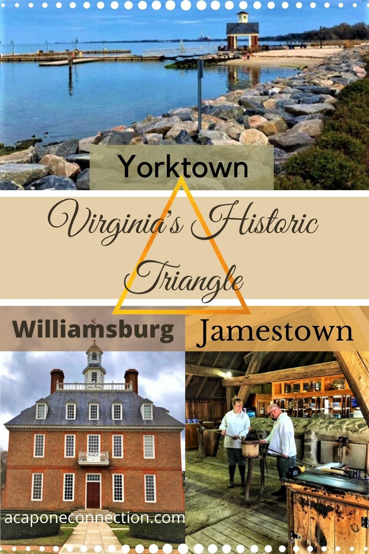 Historic Triangle, Virginia, Yorktown, Jamestown, Colonial Williamsburg