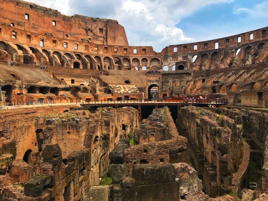 Virtual Tour of the Colosseum Rome