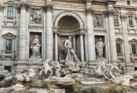 Trevi Fountain, How to Travel Virtually From your Home to Rome