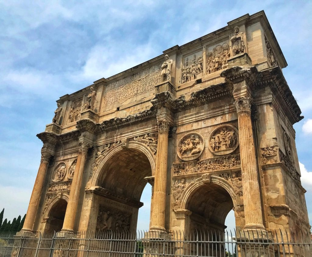 Virtual Tour Rome Arch of Constantine