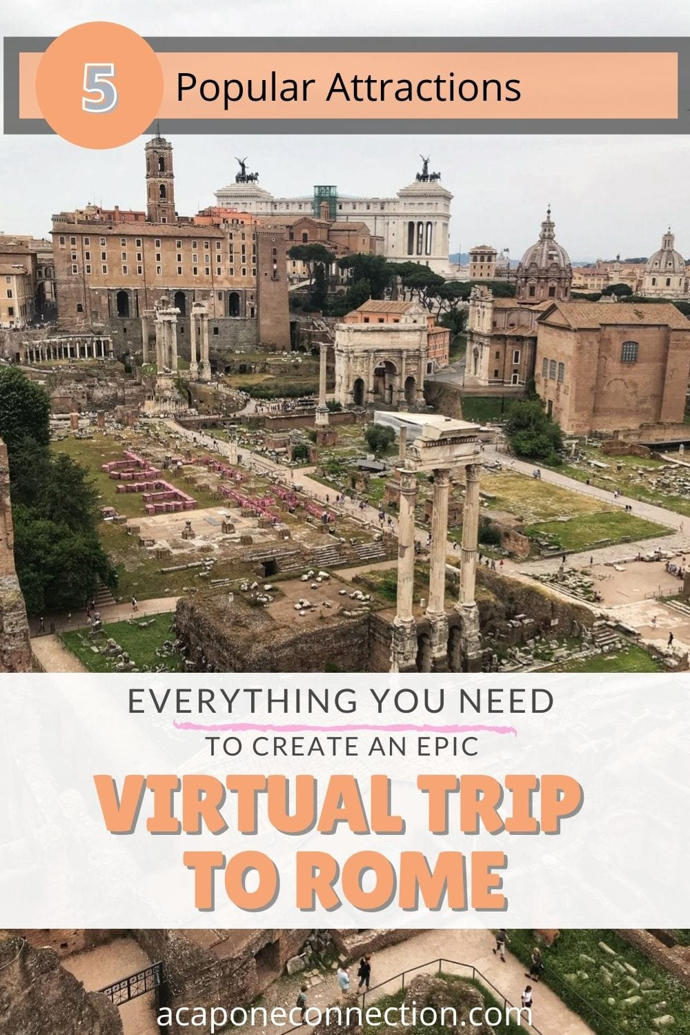 Everything you need to Create an Epic Virtual Tour to Rome