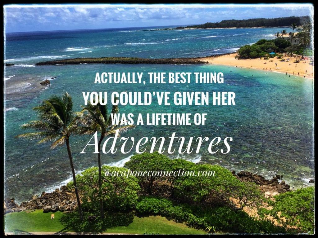 Hawaiian Islands with Quote