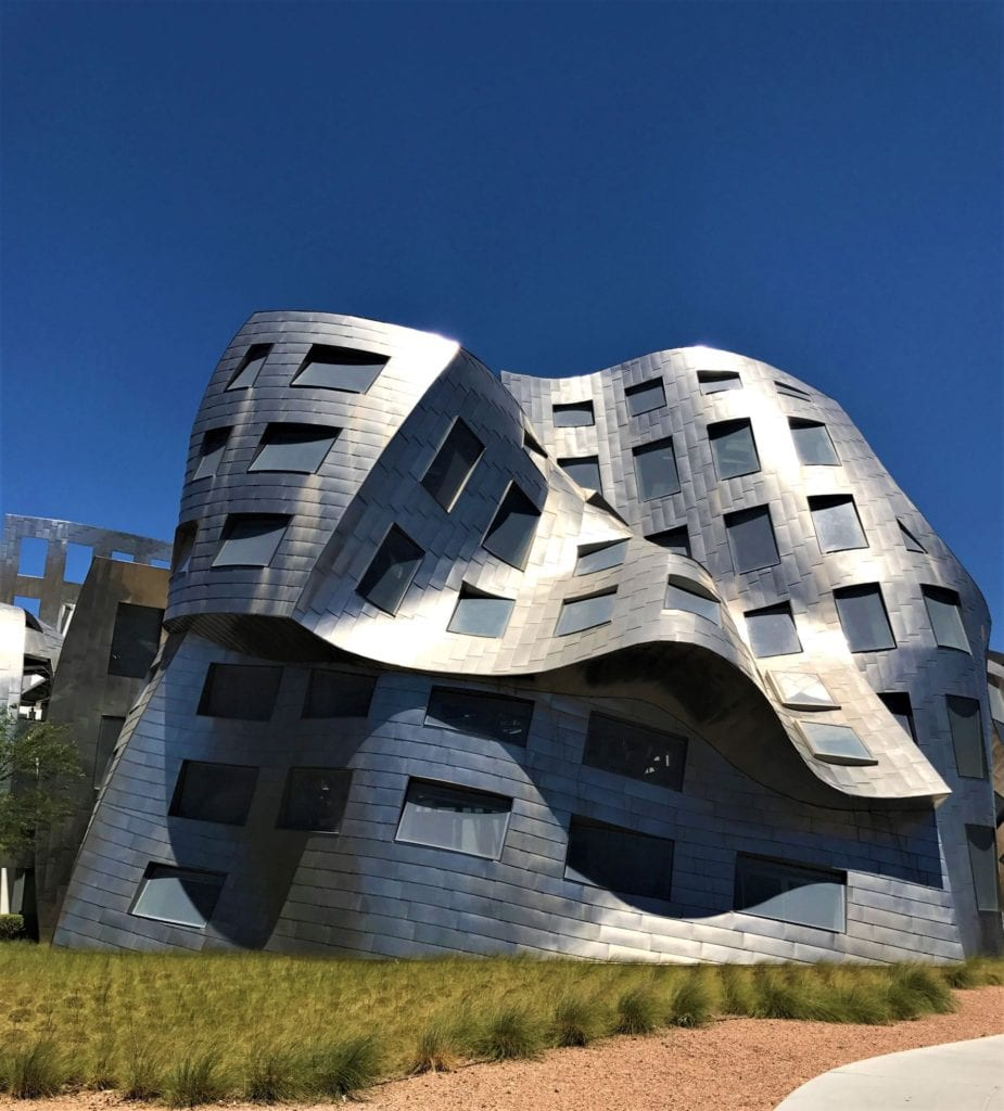 Las Vegas Frank Gehry Exterior