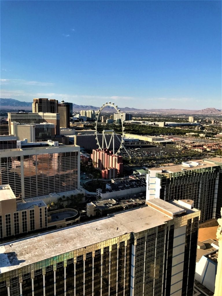 LINQ Ferris Wheel Vegas