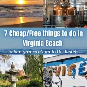 7 Cheap or Free Things to do in Virginia Beach when you can't go to the beach