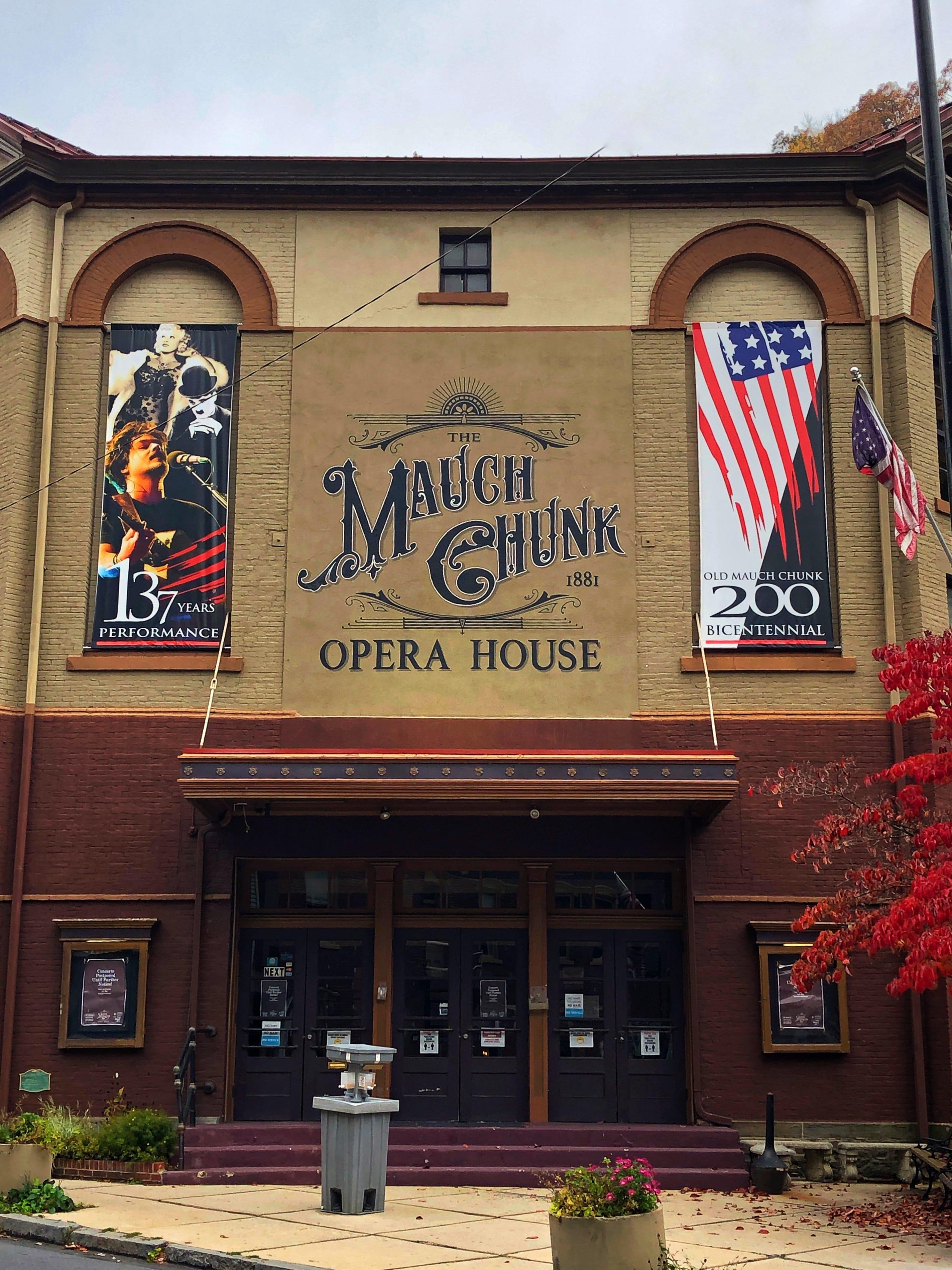 Mauch Chunk Opera House Jim Thorpe