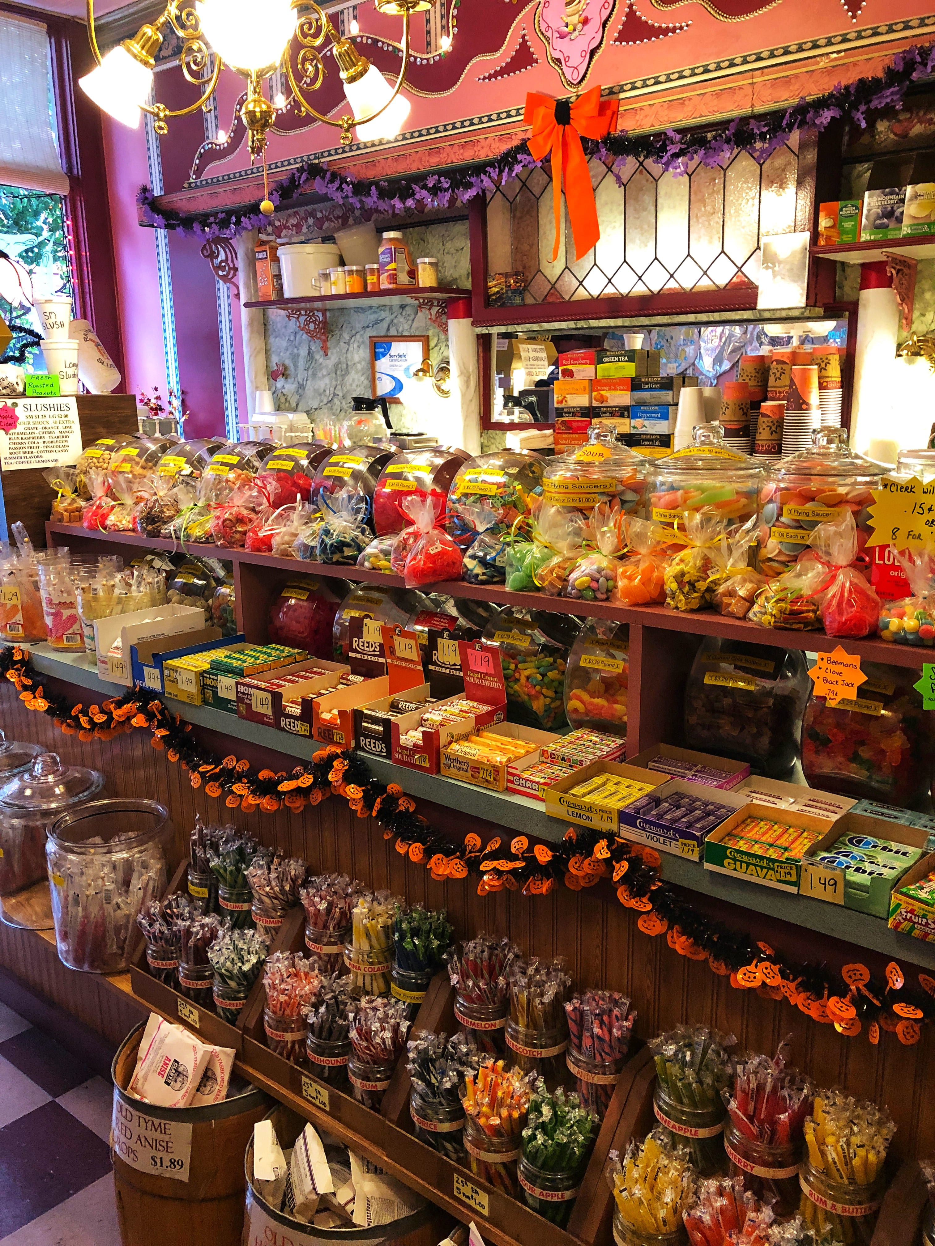 Rainbows End Candy Store