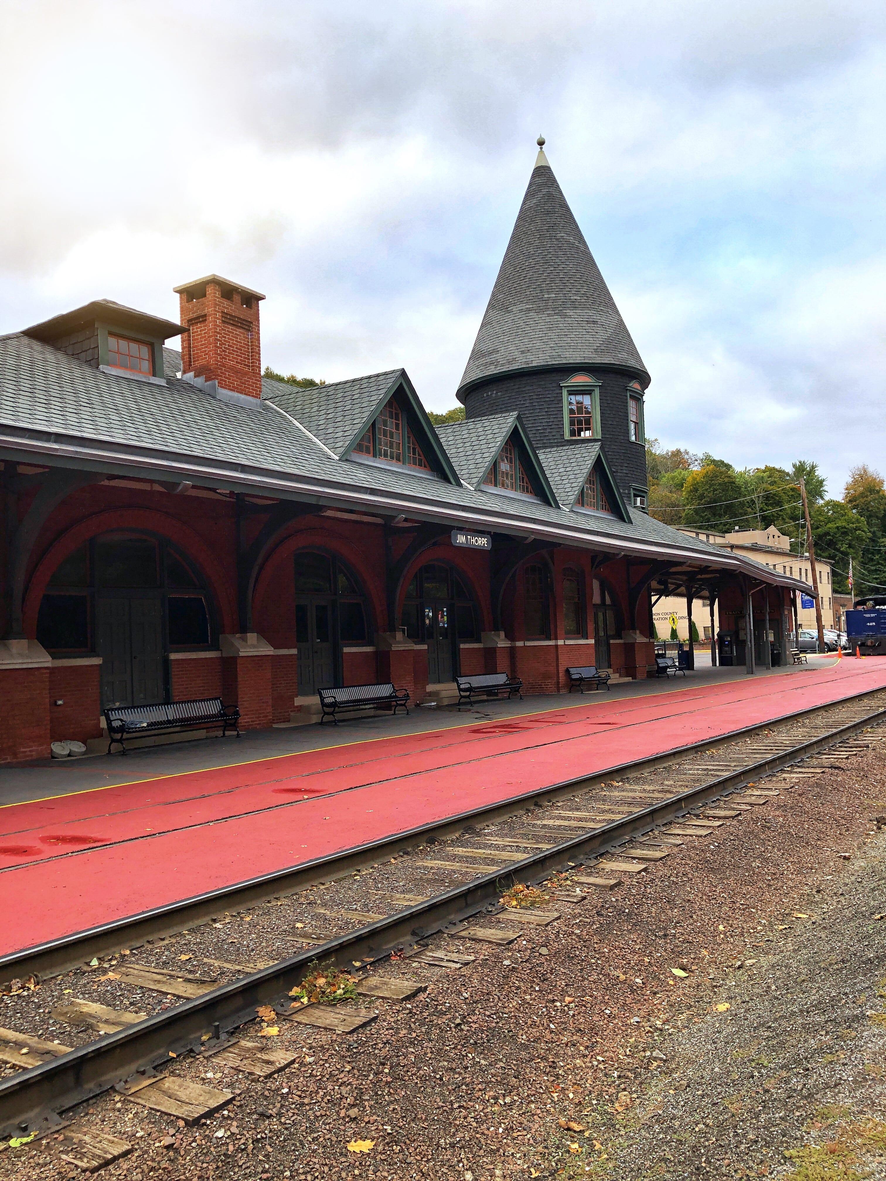 Train Station Jim Thorpe
