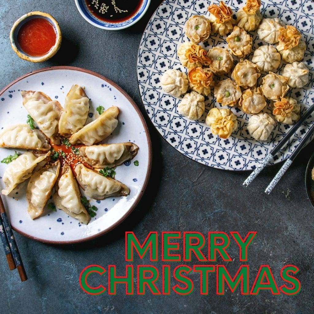 Chinese food Christmas Tradition