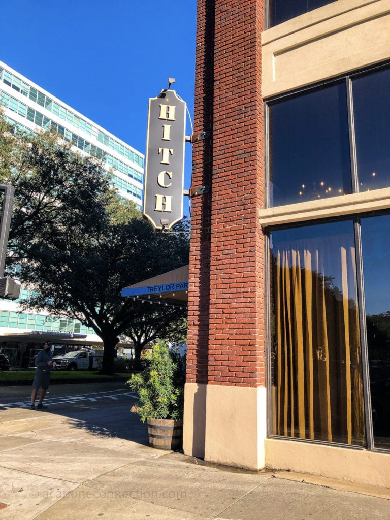 Hitch Restaurant Savannah Georgia