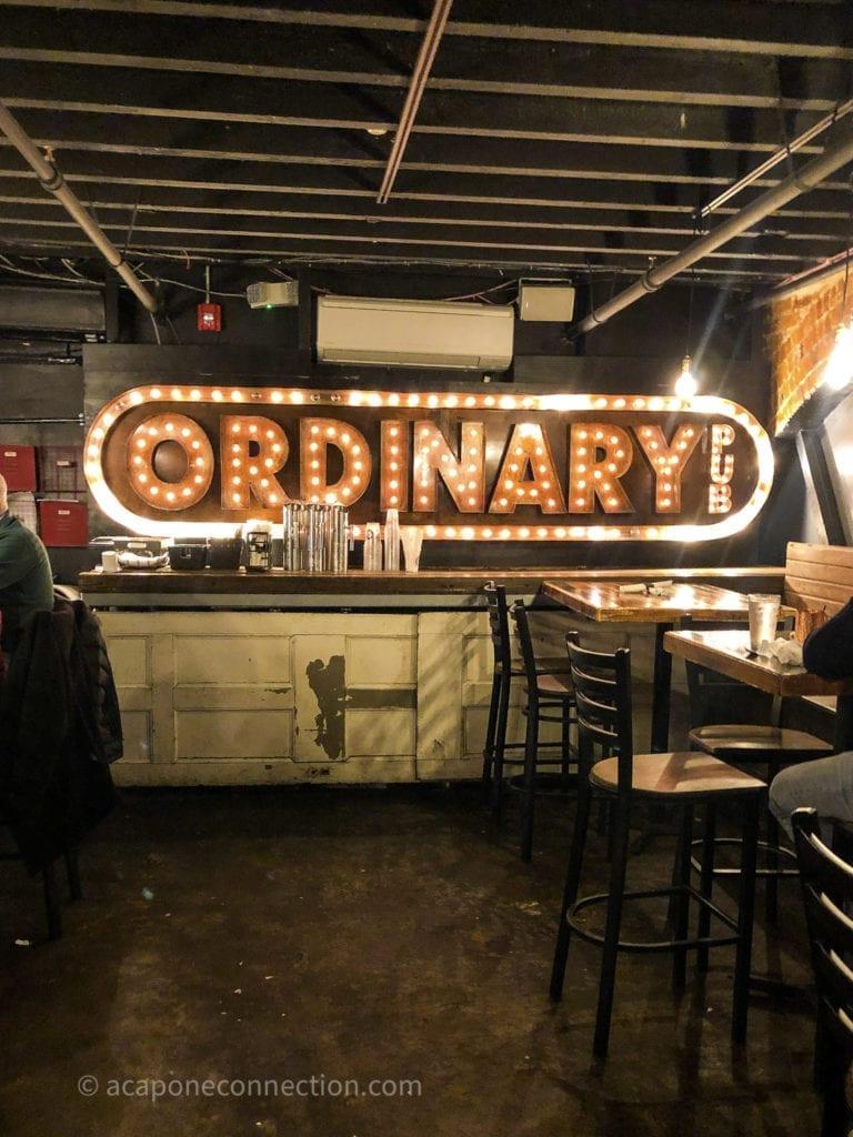 Ordinary Pub Interior Savannah Georgia