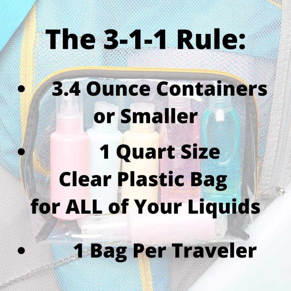 How to Pack a Suitcase Toiletry Rules