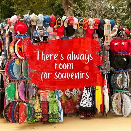 How to pack a suitcase so There's always room for souvenirs