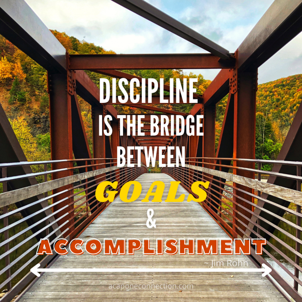 Inspirational Quote about discipline