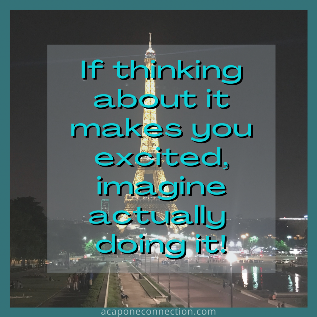 Inspirational Quote about excitement