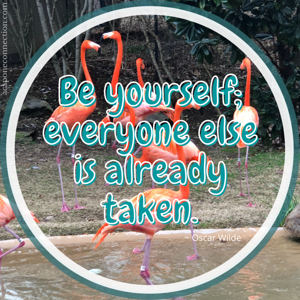 Inspirational Quote about being yourself