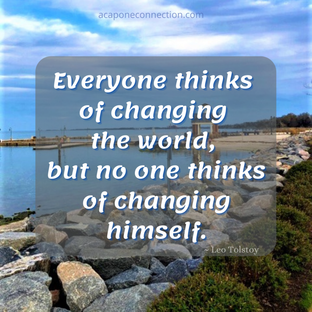 Inspirational Quote about changing the world