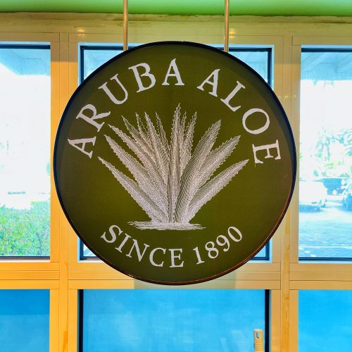 Aruba Aloe Sign