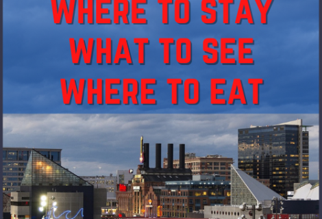 How to Have an Epic Weekend in Baltimore Maryland