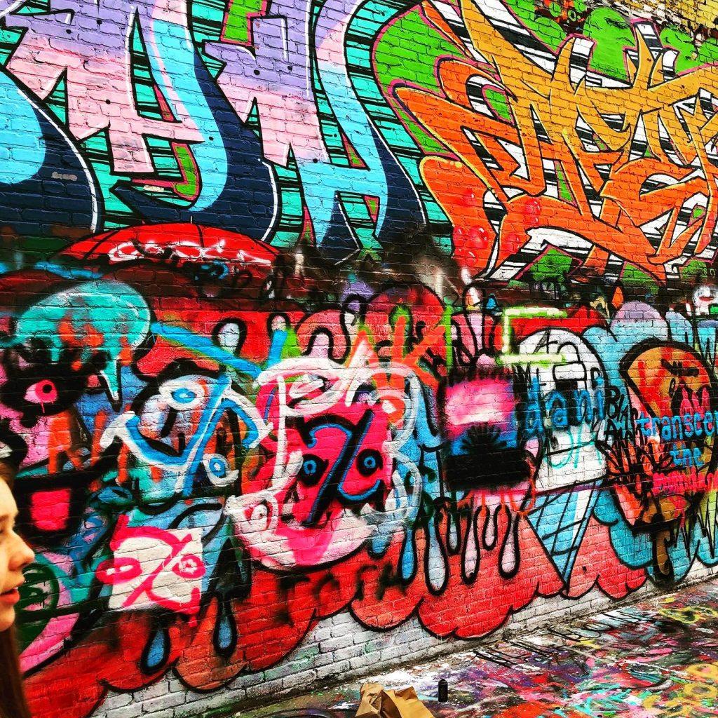 Graffiti Alley Baltimore Maryland