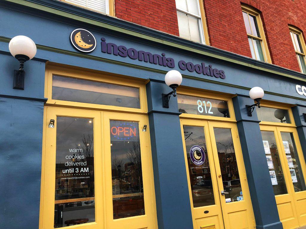 Insonmia Cookies Baltimore Maryland