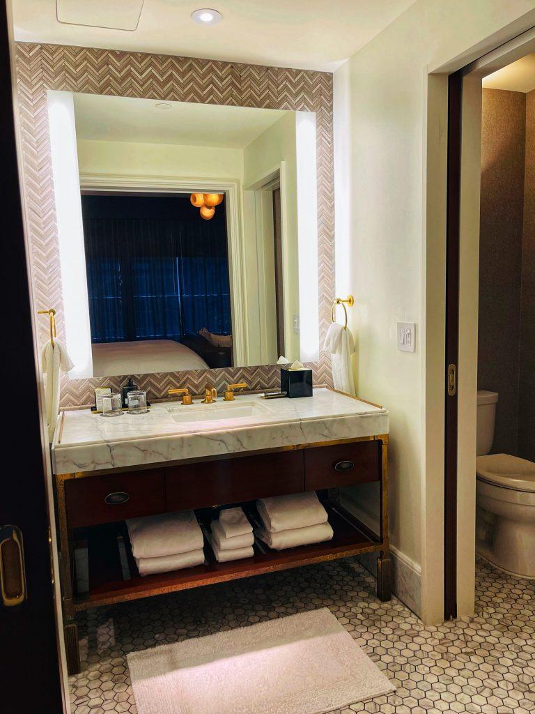 Pendry Hotel Room Bathroom Baltimore