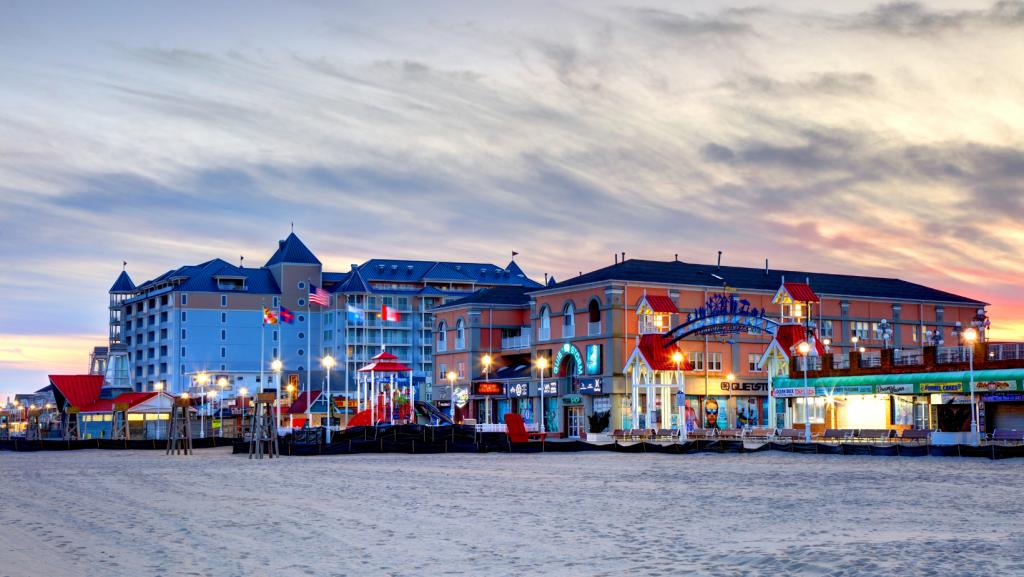 Boardwalk Ocean City Maryland