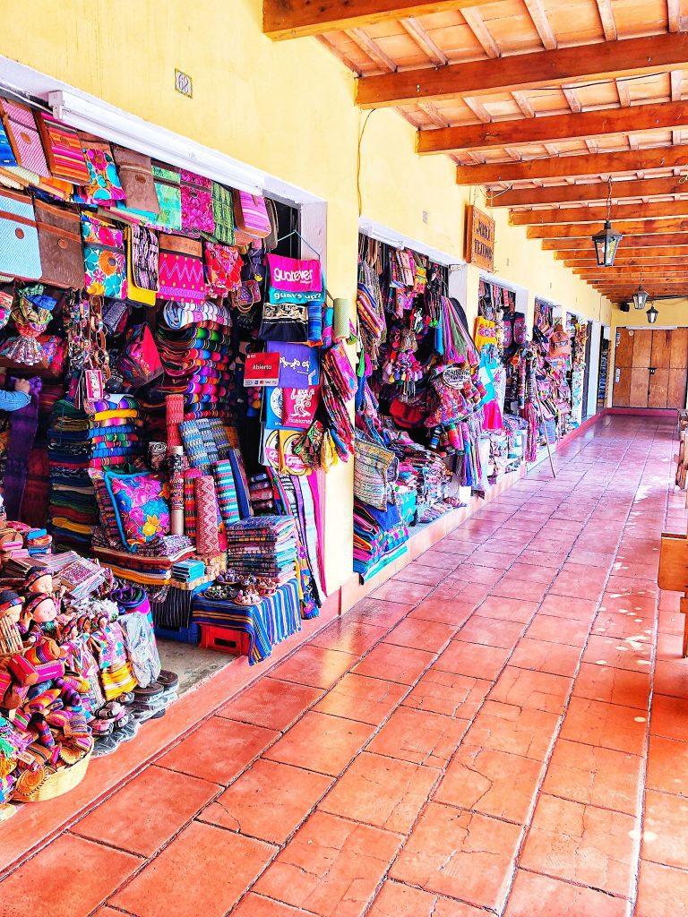 Antigua Guatemala Shopping
