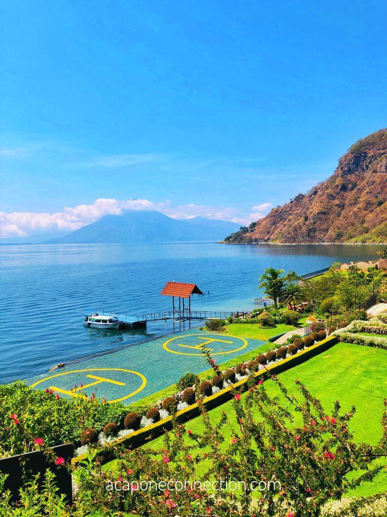 Hotel Atitlan Guatemala Helicopter Pad