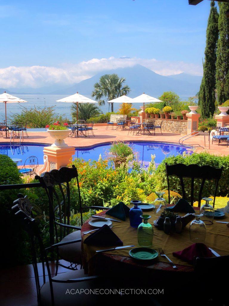 Restaurant in Hotel Atitlan Guatemala