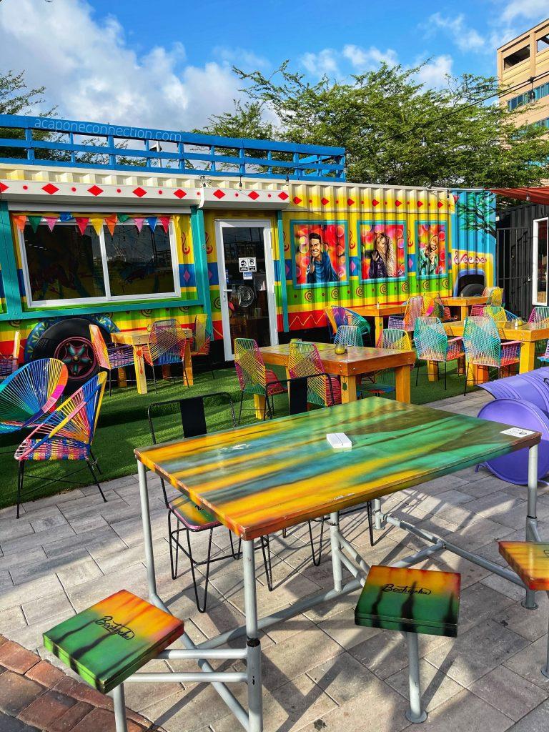 Bochincha Container Restaurant Aruba