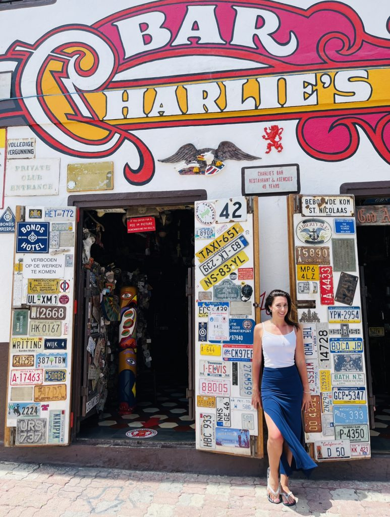 Charlie's Bar and Andrea Capone