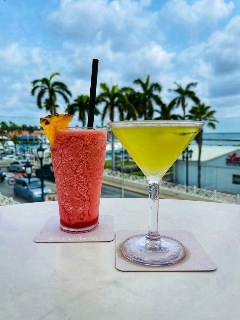 Rooftop Cocktails in Aruba