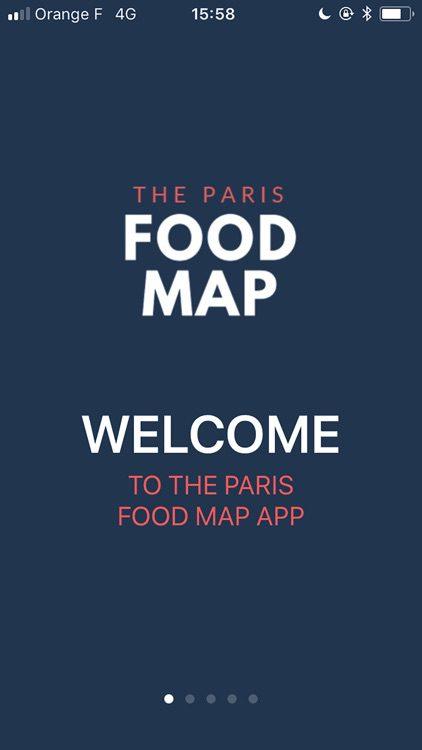 Paris Food Map