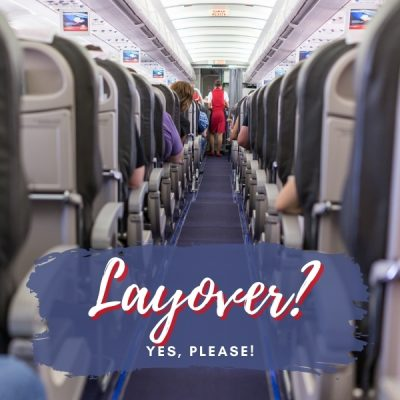 Plane Interior for Carry On Suitcase